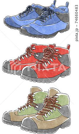 登山靴の種類 74660483