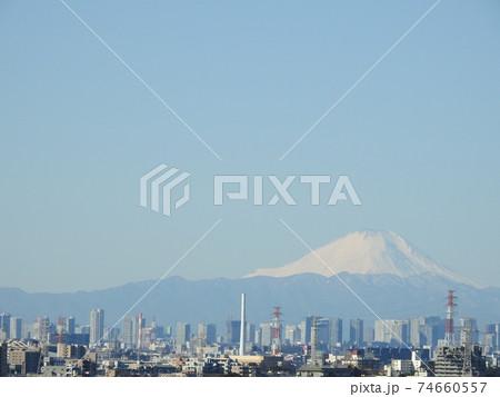 霊峰富士山の風景です!気持ちを。。いつも穏やかにしてくれますね!感謝です!(笑い) 74660557