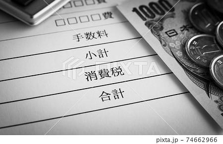 消費税の項目 明細項目 明細 74662966
