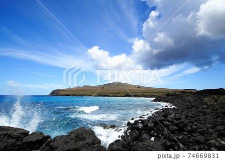 南太平洋のイースター島 ポイケの雲 74669831