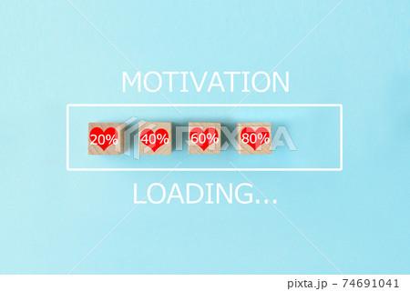 モチベーションをローディングするイメージ 74691041