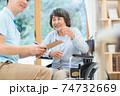 介護イメージ シニア デイケア 介護福祉士 老人ホーム 74732669