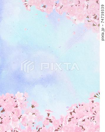 桜 背景素材 74739339