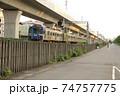 鉄道駅 鉄道駅舎 電車の駅 74757775