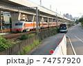 バス 電車 列車 74757920