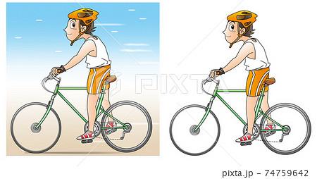 スポーツ自転車ースピード1 74759642