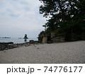 砂浜と風情 74776177