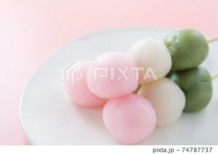 三色だんご 74787737