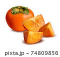 Persimmon Fruit 74809856