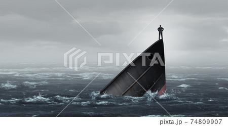 Sinking Ship Metaphor 74809907
