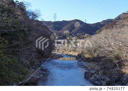 沢井付近の多摩川(東京都青梅市) 74820177