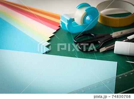 工作グッズいろいろ ハンドクラフト 材料 図工 手作り 74830708