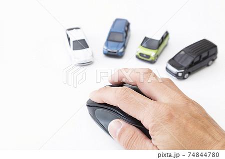 マウスと自動車 74844780