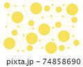 情報テクノロジー 繋がりを表した背景 74858690
