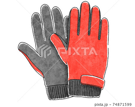 手袋 74871599
