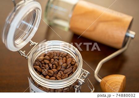 珈琲豆 コーヒー器具 手動ミル 74880032