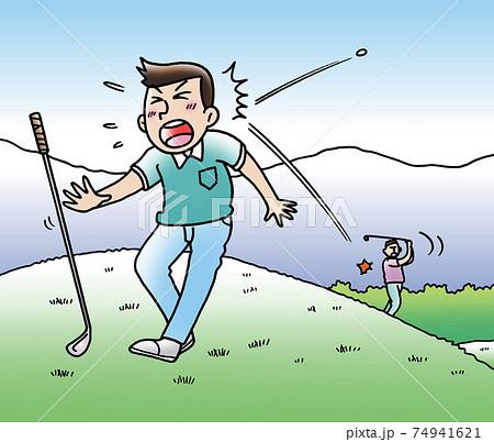 スポーツ事故,ゴルフ 74941621