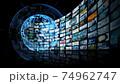 グローバルネットワーク 映像コンテンツ 74962747