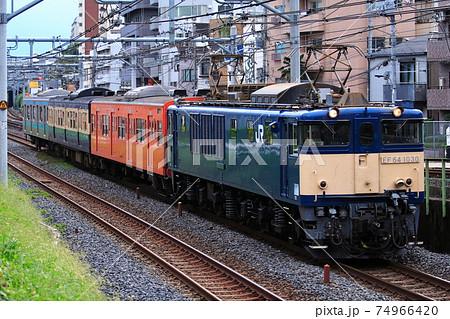 [珍編成]EF64-1030+201系+113系+209系 配給列車 74966420