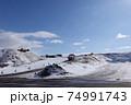 北海道 札幌市豊平区月寒の雪堆積場 74991743