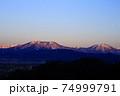 飯縄山と黒姫山 74999791