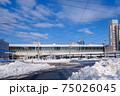 冬・雪の富山駅 75026045