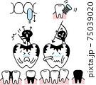 虫歯になって泣く歯とブラッシングセット 75039020