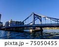 東京・快晴の清洲橋 75050455