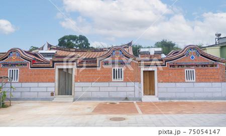 台湾・金門島 伝統的な建築様式の家屋 75054147