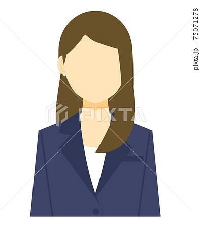 スーツの女性 75071278