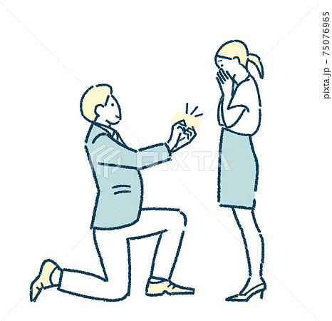 プロポーズ サプライズ 婚約 結婚 結婚指輪  75076965