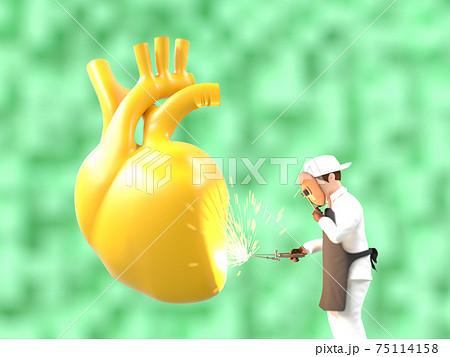 心臓のメンテナンス 75114158