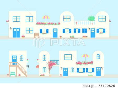 地中海の街並み 75120826