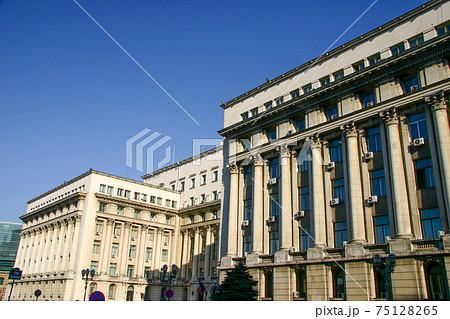 かつて共産党本部だった革命広場のルーマニア内務省 75128265