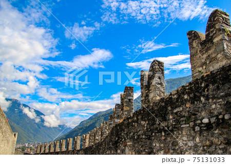 スイスの世界遺産カステルグランデ 75131033