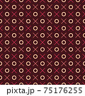 Seamless abstract pattern. Beautiful texture for textile or paper print. Vector illustration. Cute colorful background. 75176255
