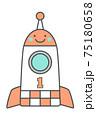 ロケットイラスト 75180658