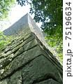 丸亀城の高い石垣 75196634