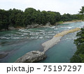 鉢形城かを流れる荒川 75197297