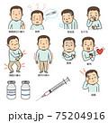 新型コロナワクチン接種後の副反応の症状 75204916