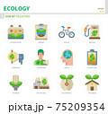 ecology icon set 75209354