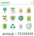 ecology icon set 75209356