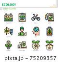 ecology icon set 75209357
