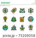 ecology icon set 75209358