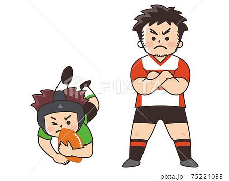 ラグビー選手 スポーツ 部活動 75224033