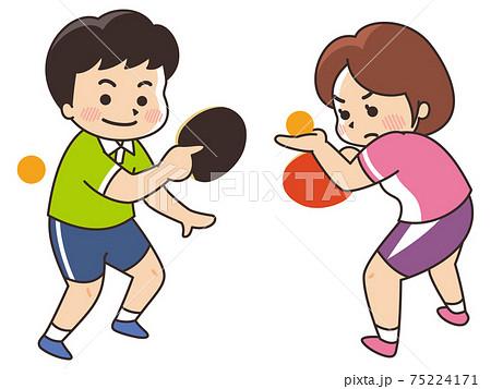 卓球選手 スポーツ 部活動 75224171