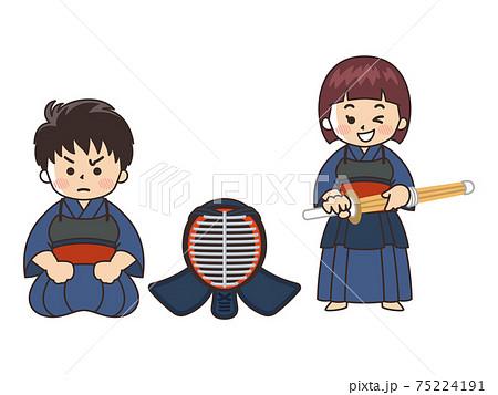 剣道家 スポーツ 部活動 75224191