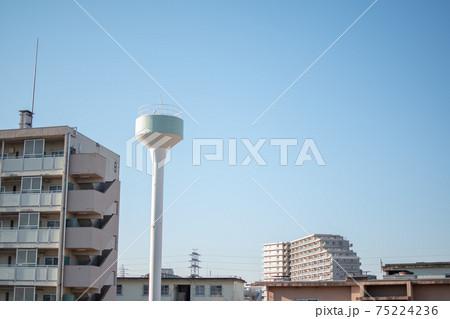 荒川土手からの風景/東京都足立区新田 75224236