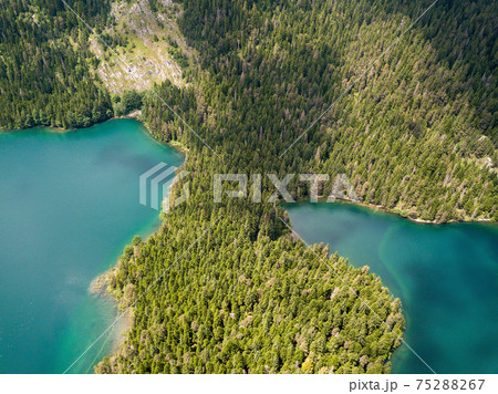 Aerial photo of the Black Lake in National park Durmitor 75288267
