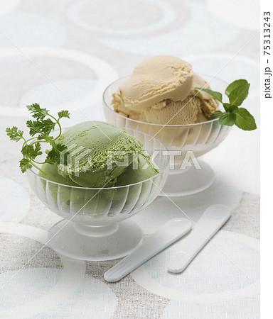 アイスクリーム 75313243